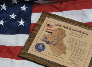 Flag-Plaque
