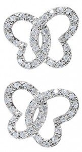 Butterfly Earring from Danforth Diamond
