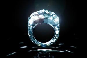 150-Carat All Diamond Ring by Shawish Jewelry