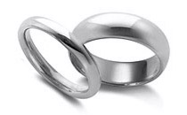 palladium mens wedding bands - Palladium Wedding Rings
