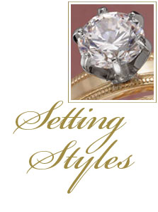 Engagement Ring Settings and Styles