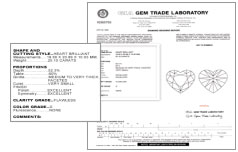 Diamond Engagement Ring Certification